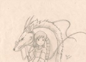 spirited away by MauroZED