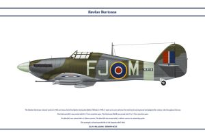 Hurricane GB 164 Sqn by WS-Clave