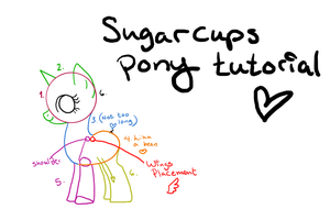 Simple Pony Tutorial by Sugarcup91