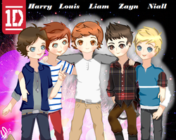 One Direction by perluchis