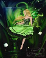 Dancing with the Green Fairy by Cynnalia