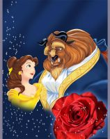 Disney: Beauty and the Beast by CoolBlueX