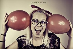 BALLONS GIRL by toxito
