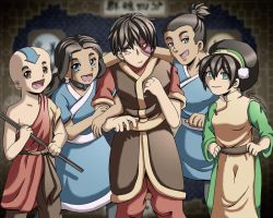 AtLA One of the Gaang by LauraDoodles