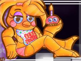 .:Chibi Toy Chica:. by EpicMaster3D