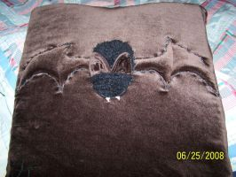 the bat pillow by rubies52