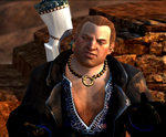 Varric. All his Blueness and Chest Hair by Tsubasa-Cloud