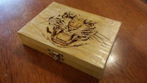 Tiger Playing Card box by DanManDu