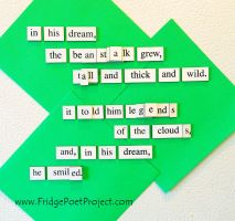 The Daily Magnet #287 by FridgePoetProject