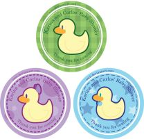 Duckie Stickers by Eeni