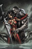 Outcast 1 cover by BlondTheColorist