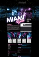 Myspace: Miami Nights by stuckwithpins