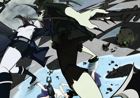 Black Rock Shooter by ItsRieuna