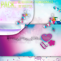 Pack de Violetta by Lichu-editions