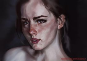 Girl Portrait 4 by Deputee