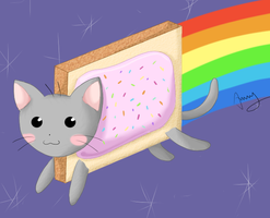 Nyan Cat by anny-ramen