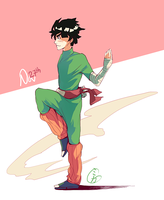 11/27 - Rock Lee! by shattercrack