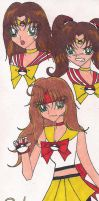 Sailor Poke'Mon sketches by rumiko18