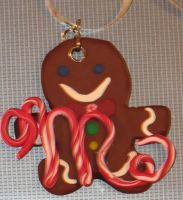 Ornament - Gingerbread Man by LeraDraco69