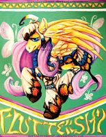 Fluttershy .:Monster Hunter:. by MortaleRedWolf