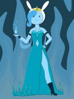 Fionna the Flame Queen by AlwaysForeverHailey