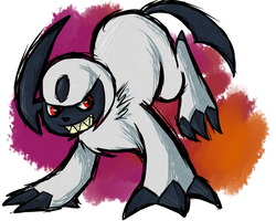 Absol by KaoKay