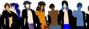 BASE-Boys and Men Group Collab by ThunderWolfang