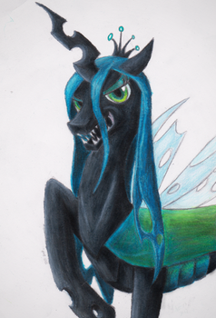 Queen Chrysalis by planetarypony