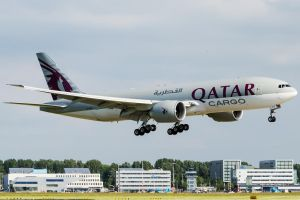 Qatar Airways Cargo Boeing 777-FDZ by SliverFoxNL