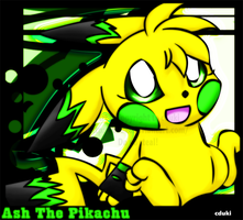 Ash the Pikachu by cduki