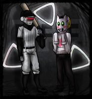 Crossover: Daft Punk and OFF by TechnologicTea