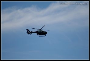 State Police Helicopter by DarkestFear