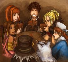 Shadow Hearts 2: Card Games by Jassikorandoms