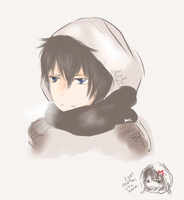 Winter Hibari [2012] by Chi-zuru