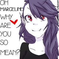 Oh Marceline by sonicat62