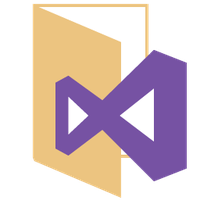 Visual Studio 2012-13 Metro Icon by jay-wick