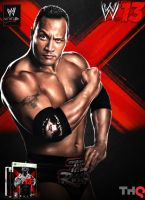 WWE 13 - The Rock(Attitude Era) Cover by MarcusMarcel