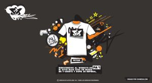 Website T-shirt Pa'1index by mcs4