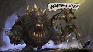 Aggro by TheFirstAngel