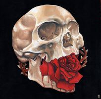 Roses are Dead by dviart