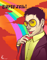 Superjail FanArt: The Warden by Shin-ichi
