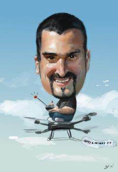 Caricature for my Brother in Law's Bday by gregoo23
