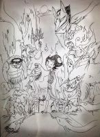 Don't starve Yokai version by RavenBlackCrow