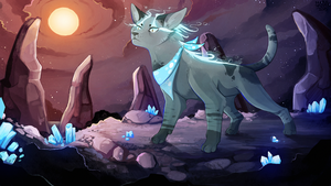 Water Crystals by MapleSpyder