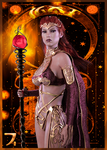 Deck of Elements - Queen of Fire by SkyDaddyD