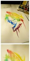 Rainbow Luffy - Finished by NirmtwarK-s