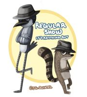 Regular Show by rabidragdoll