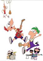 Phineas And Ferb Playing Music by ShuelAhmed