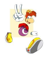 Rayman by ss2sonic