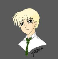 Draco Malfoy Painted by MagicalMii